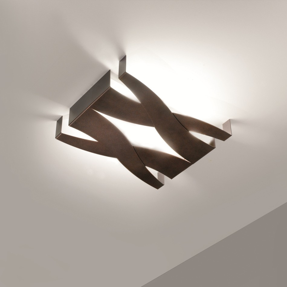 Fifì Ceiling Lamp - Bronze 40x34cm