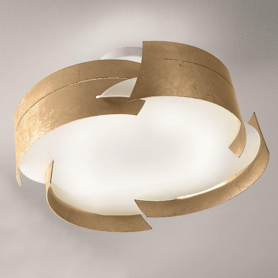 Vulture Ceiling Lamp - Gold leaf 47cm