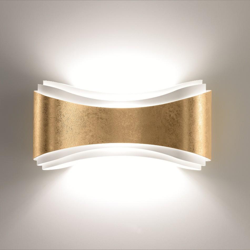 Ionica Wall Lamp - Gold leaf