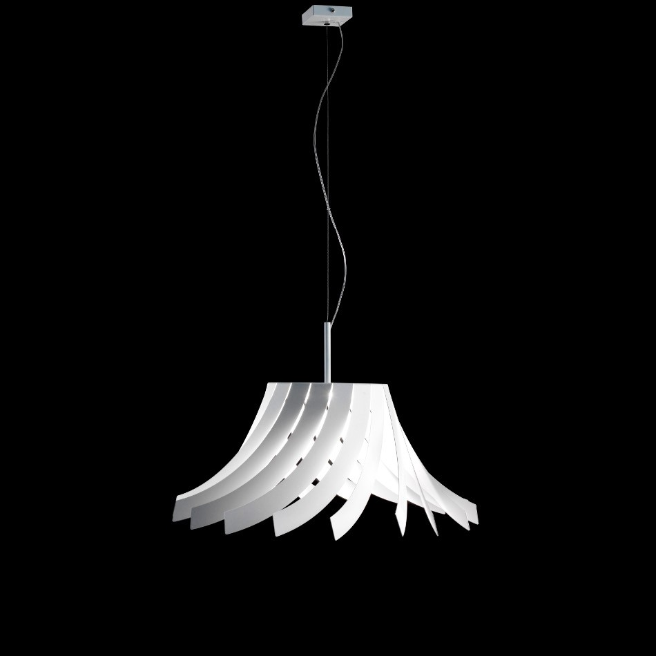 Panama Suspension Lamp - White 60cm