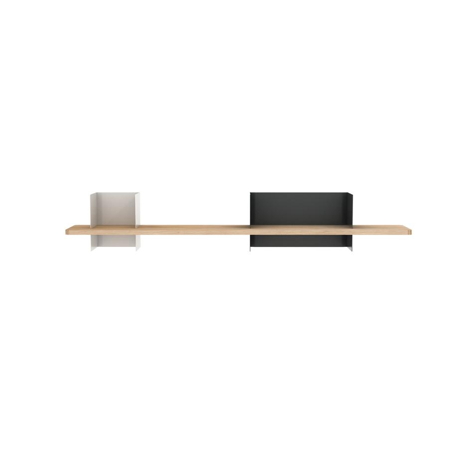 Clip Shelf Large Agate & Traffic Gray