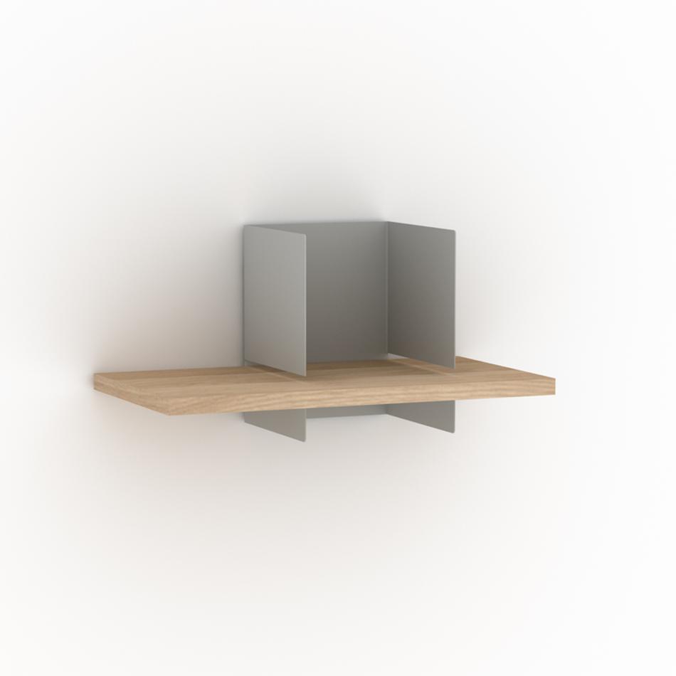 Clip Shelf Small Agate Gray