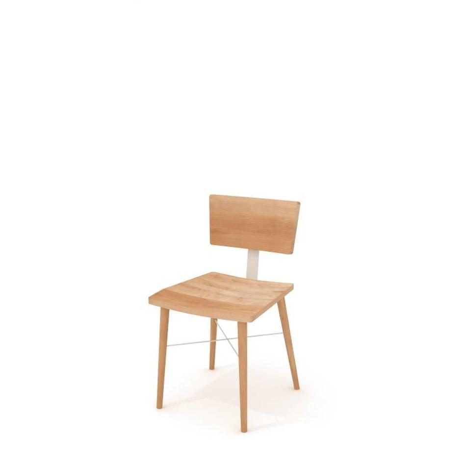 Dowel Chair White
