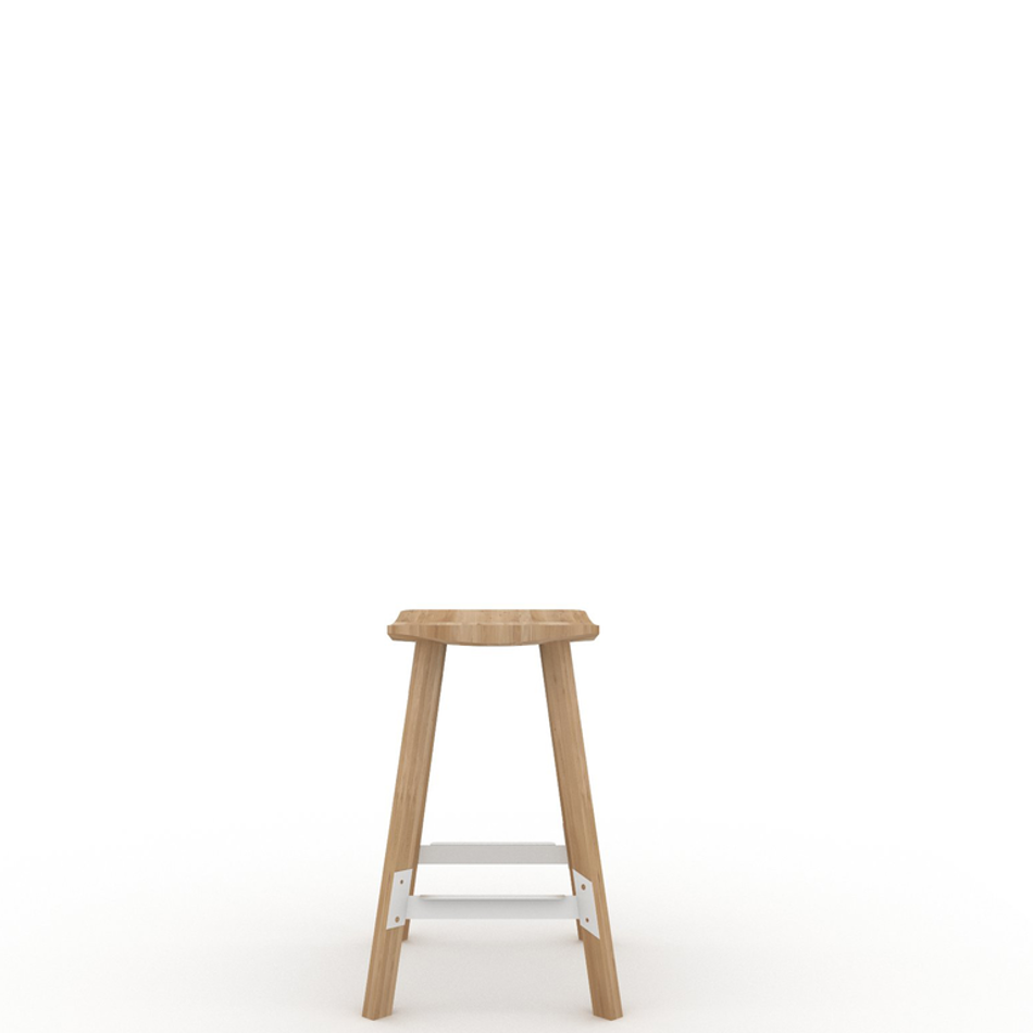 Gud Breakfast Stool White