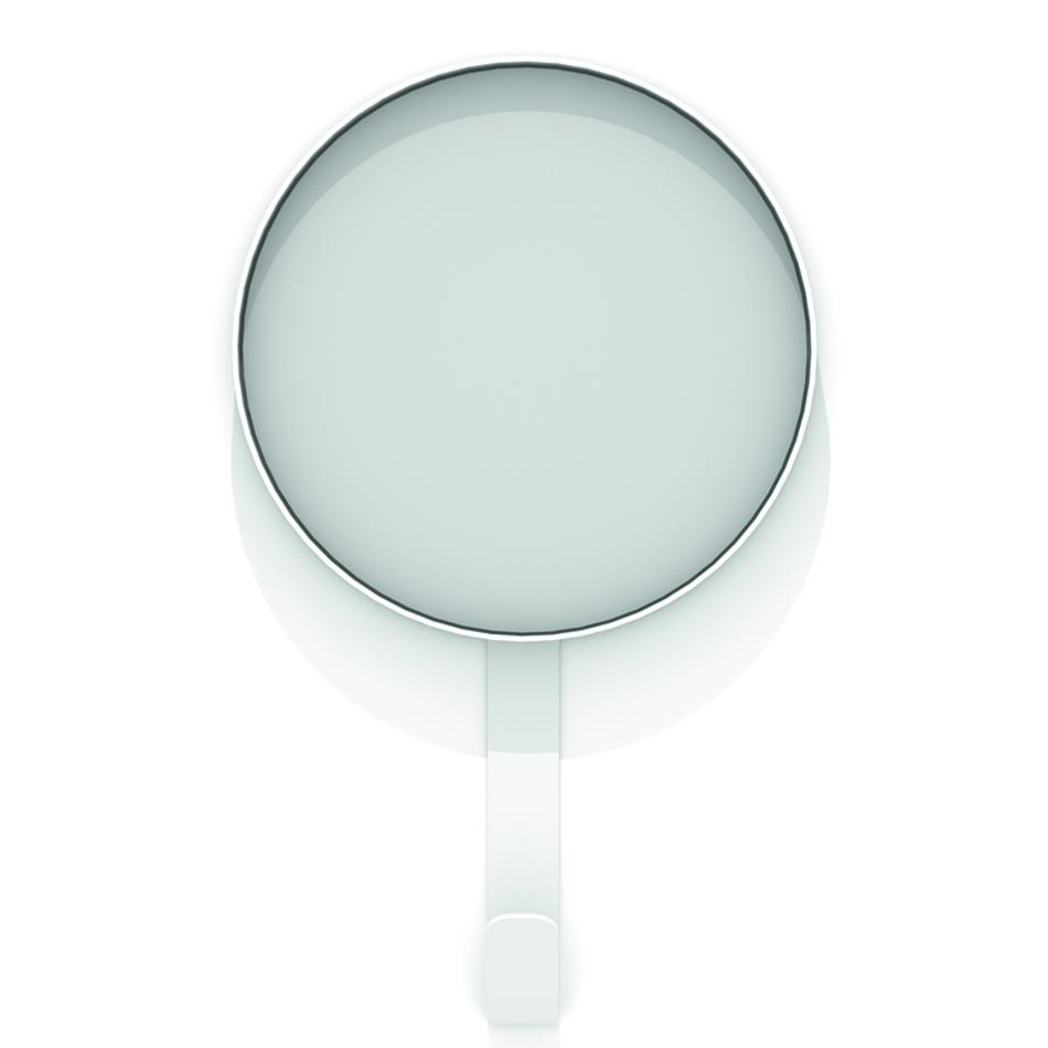 Kaschkasch Hook Mirror White