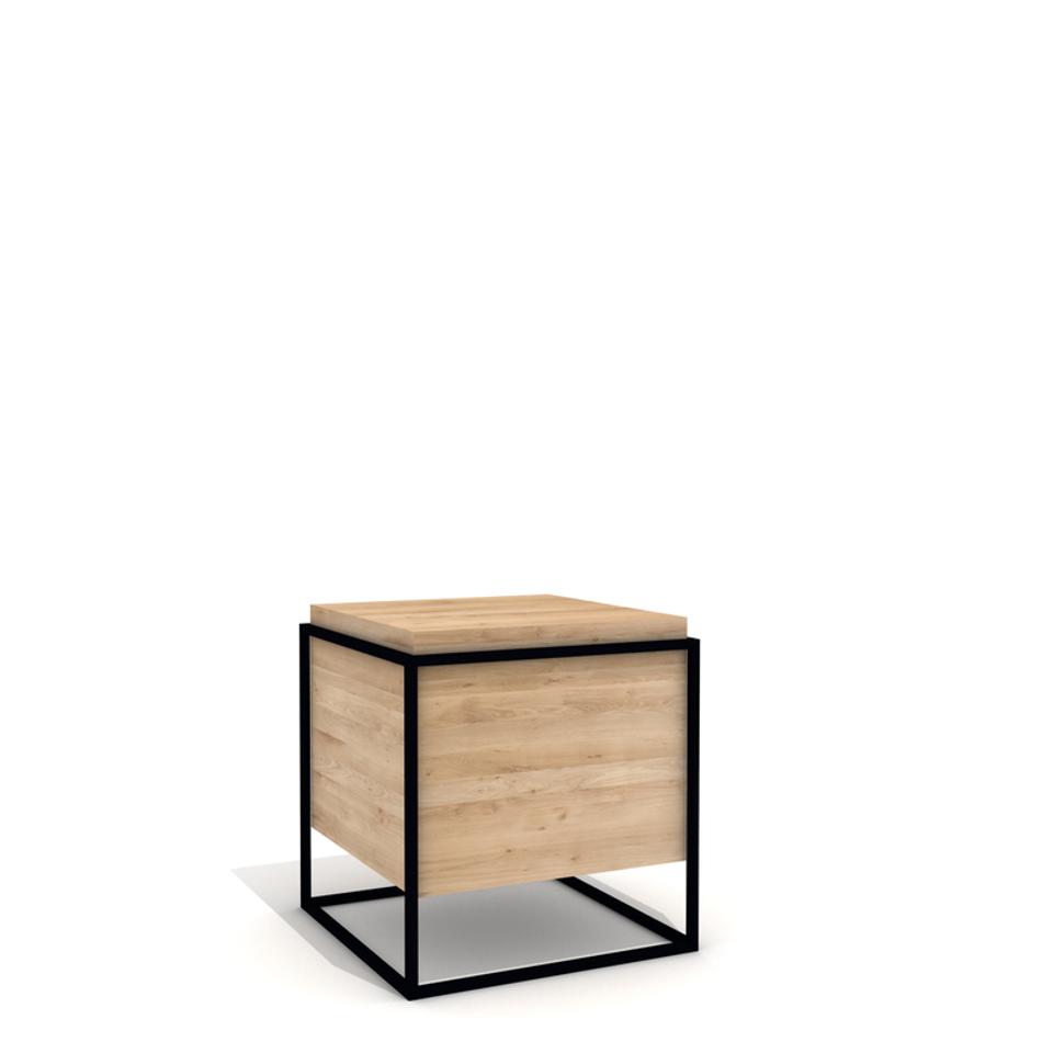 Monolit Side Table Large Black