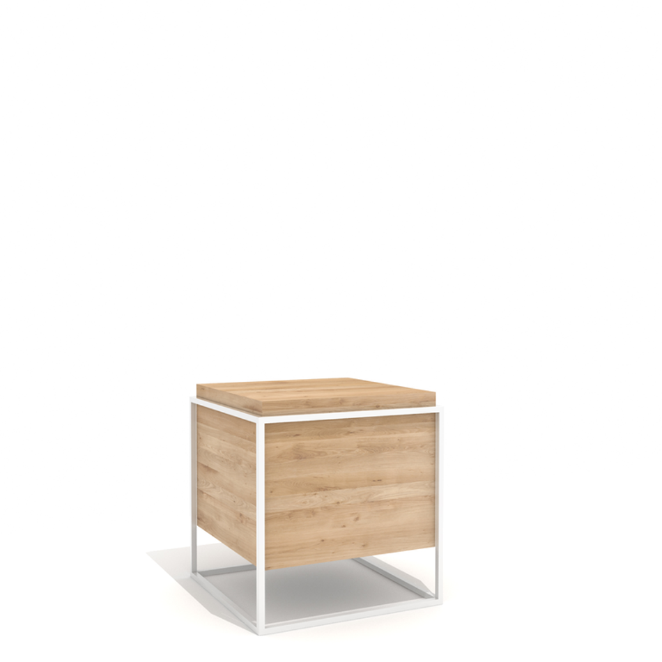 Monolit Side Table Large White