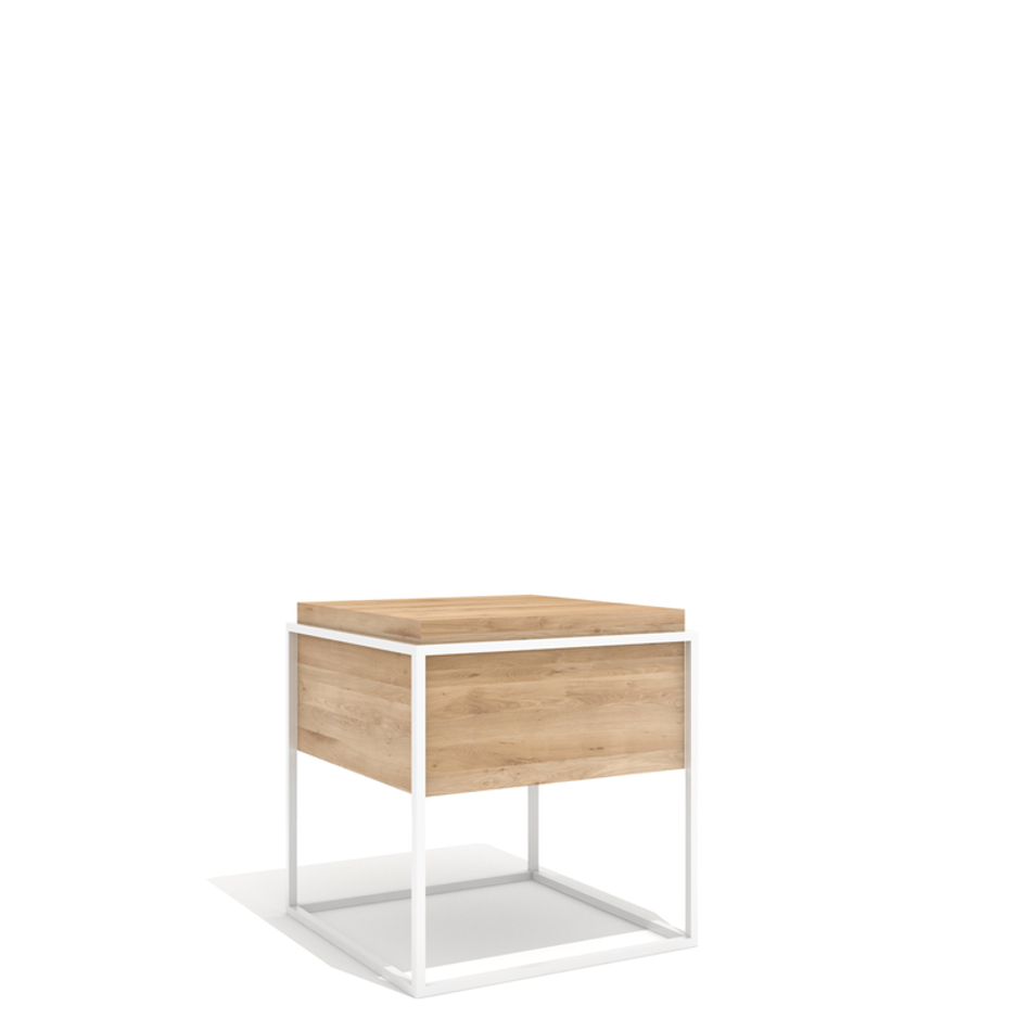 Monolit Side Table Medium White