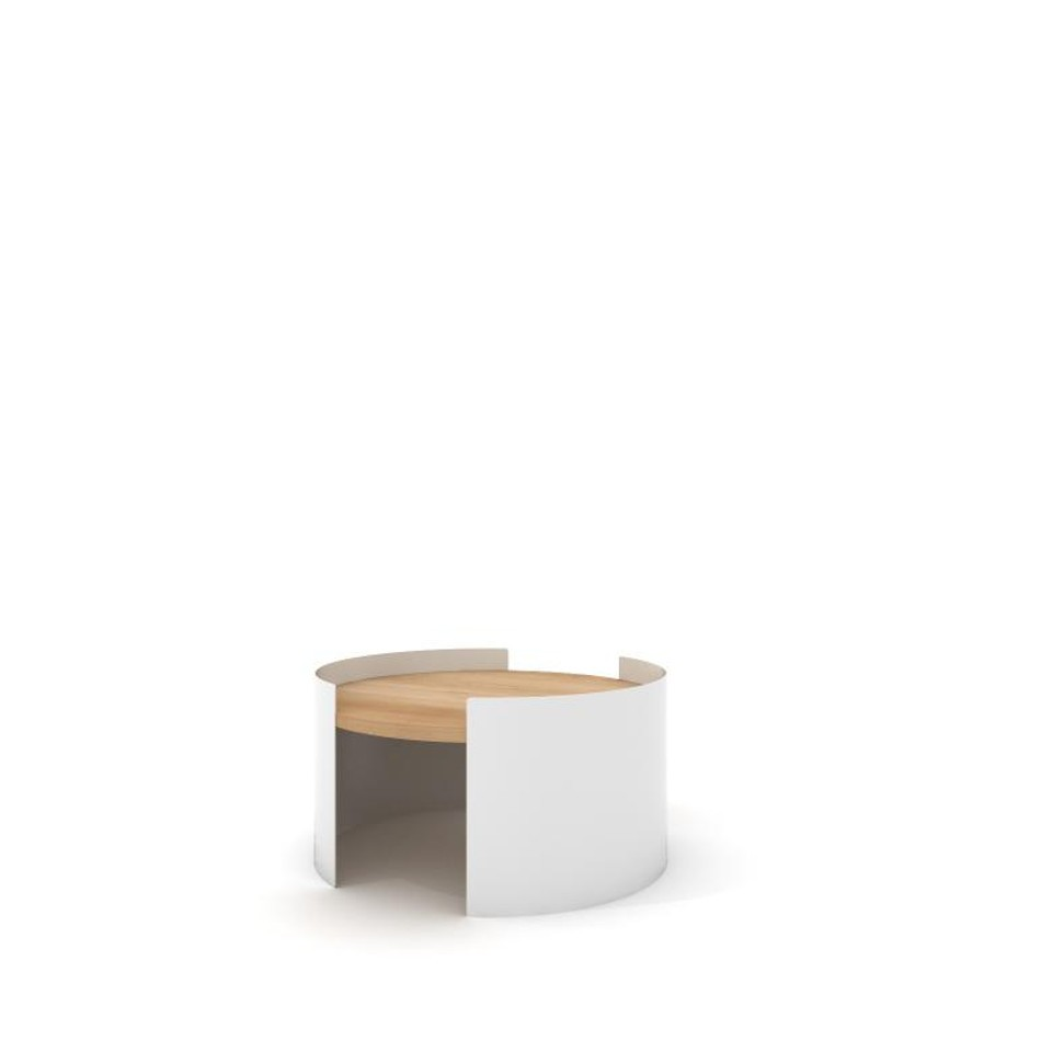 Moon Table Small White