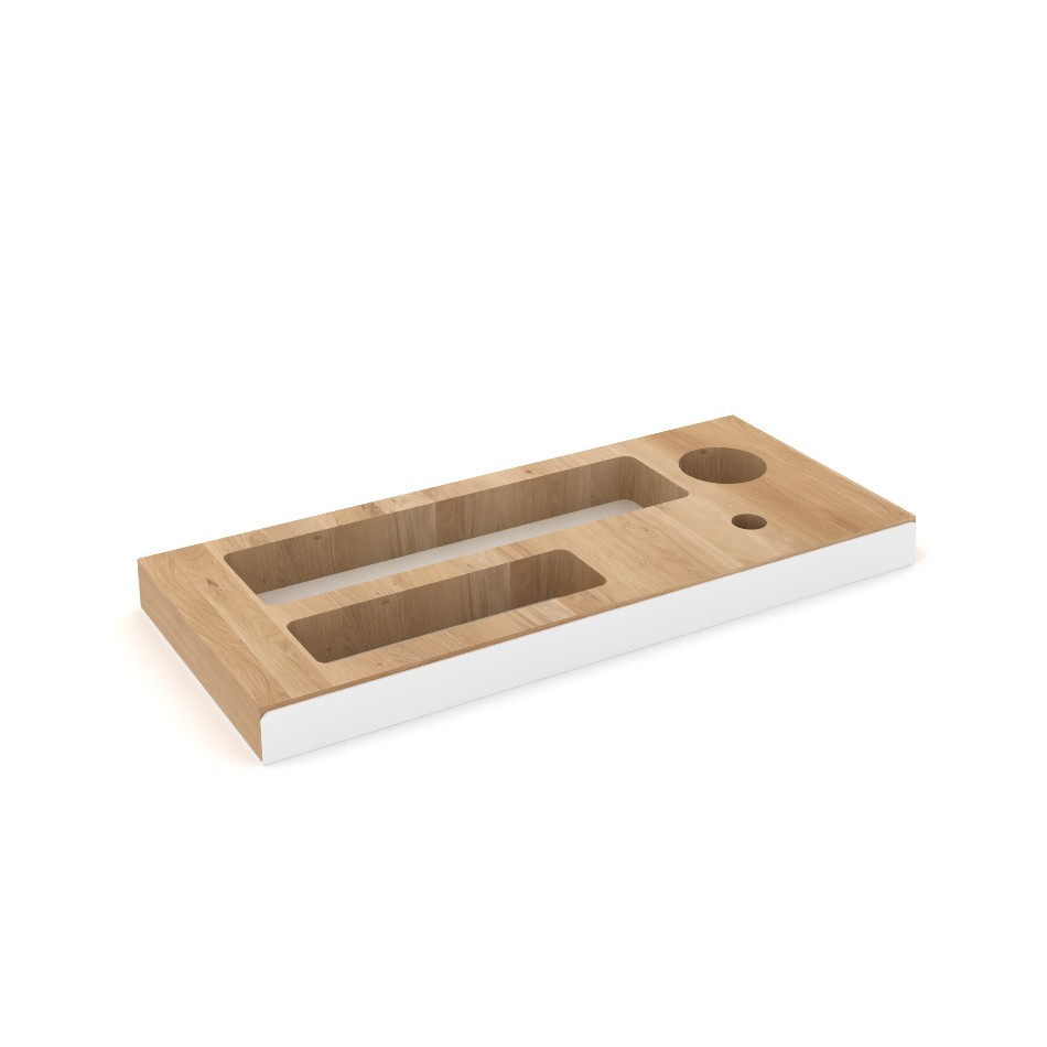 Pencil Tray White