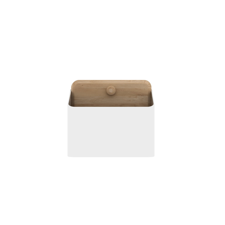 Pin Box Medium White