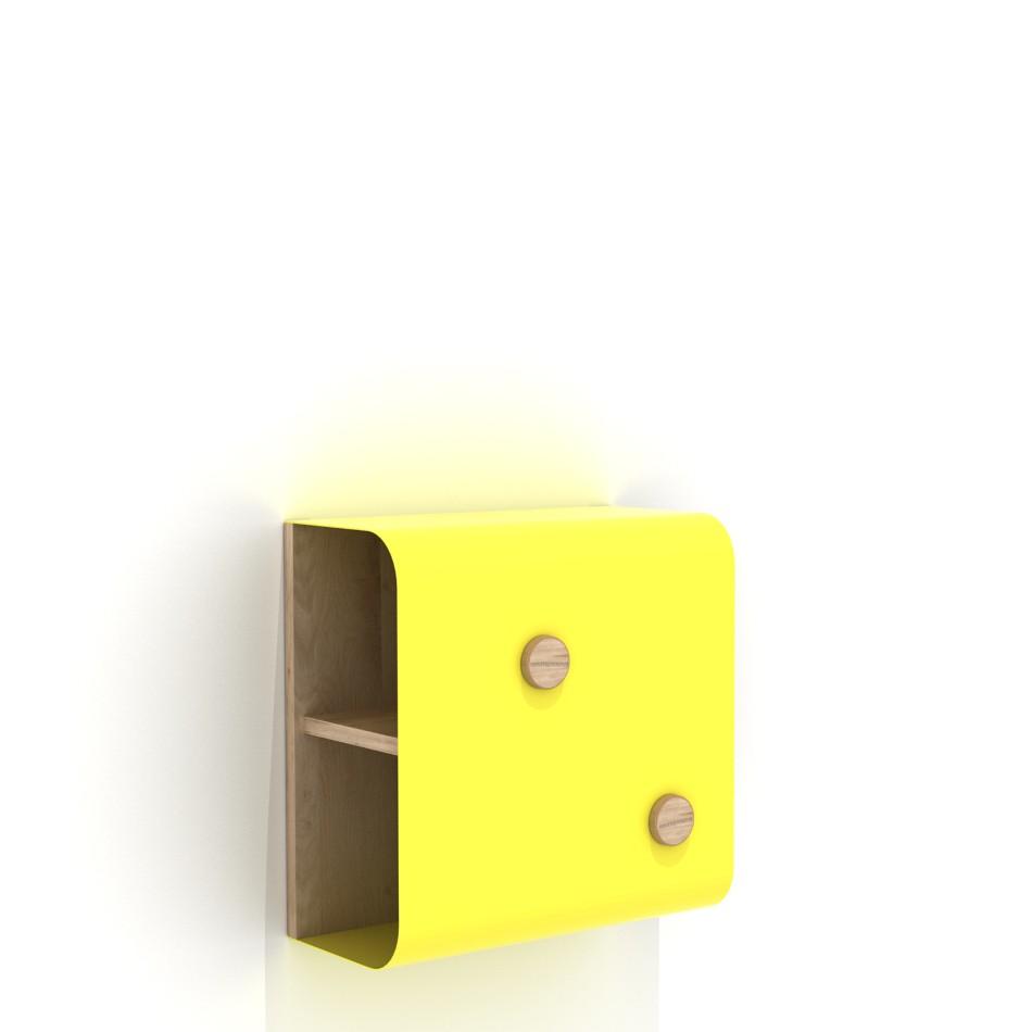 Shell Wall Unit Small Yellow