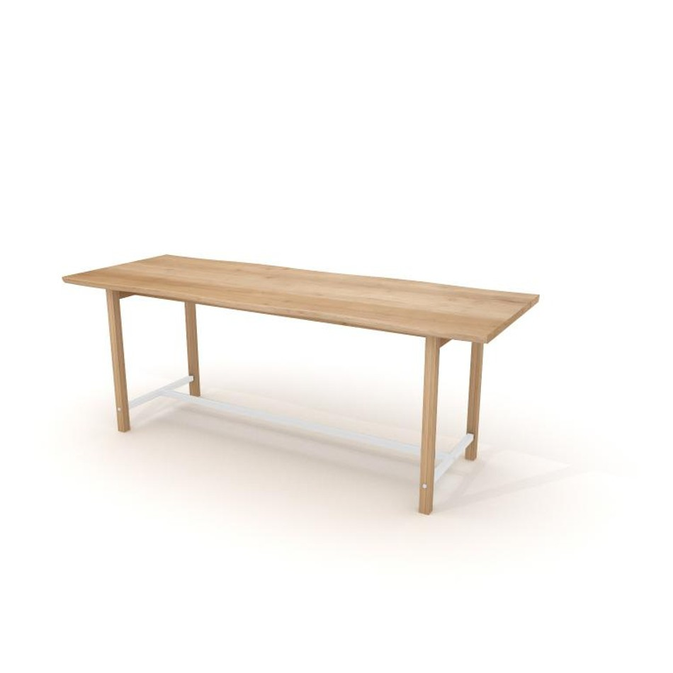 Squeeze Table 90 White