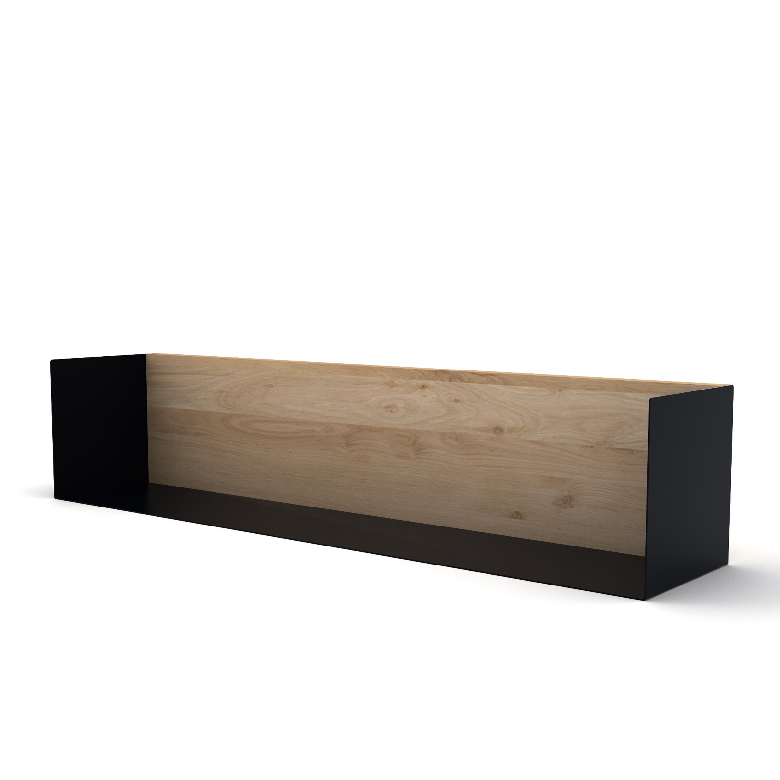 U Shelf Large Black