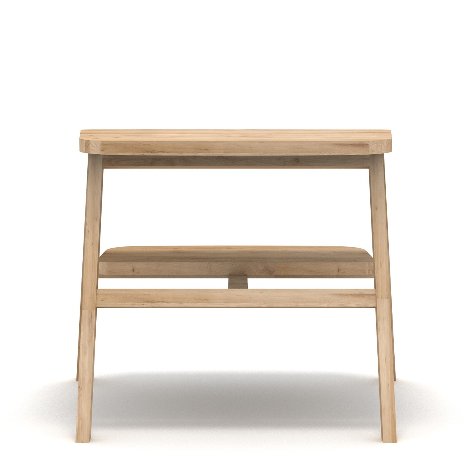 Ladder Stool Black