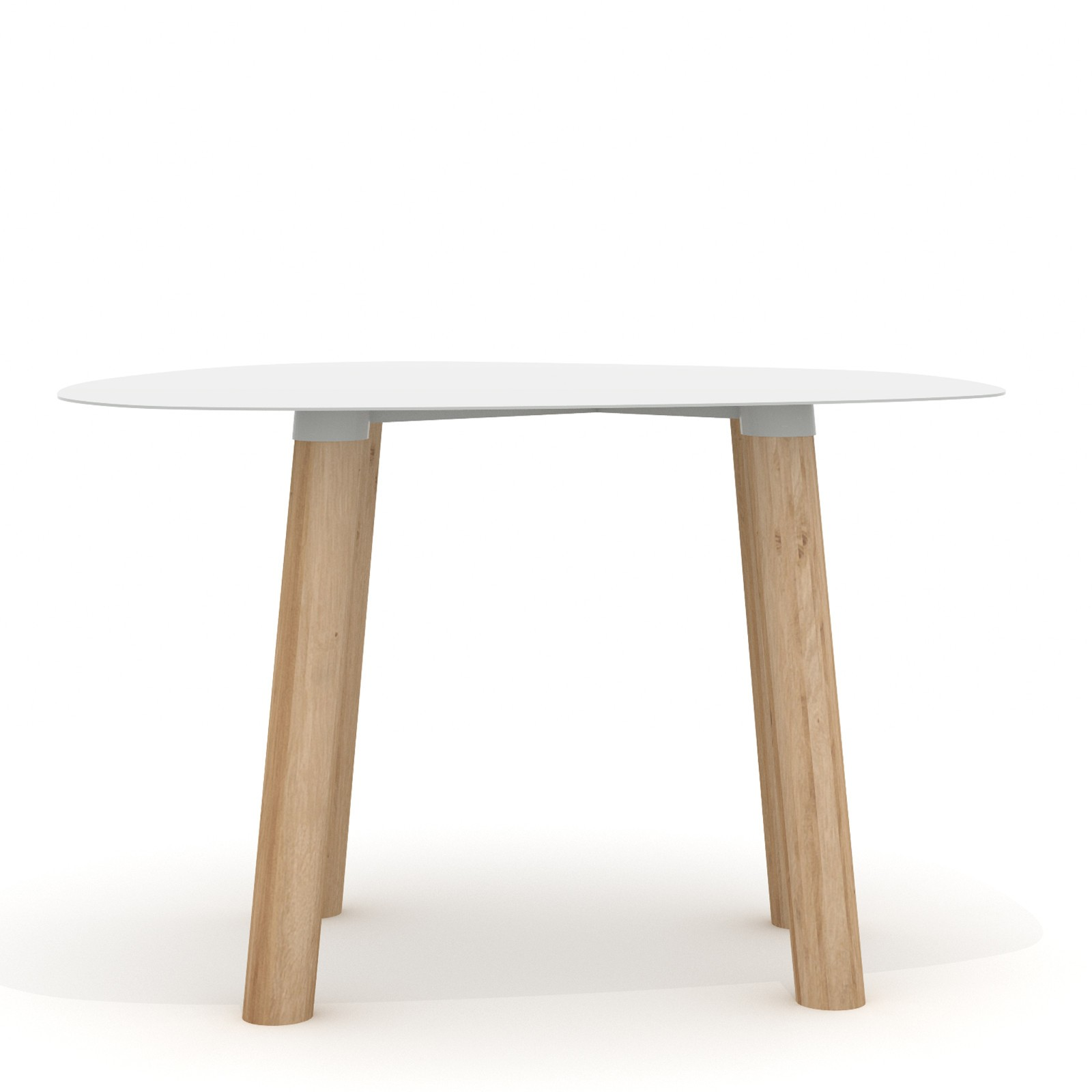 Turtle Table 45 Light Grey