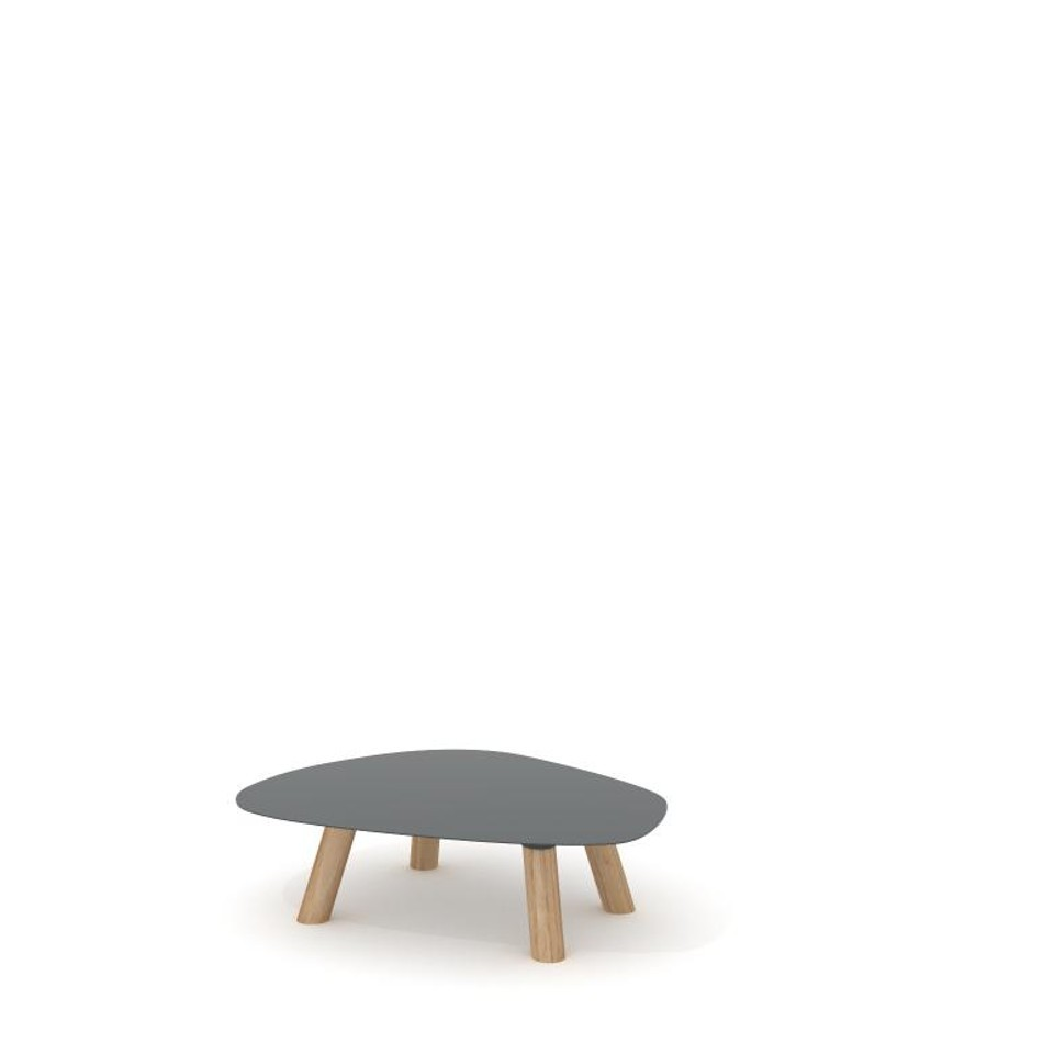 Turtle Table Medium Traffic Gray