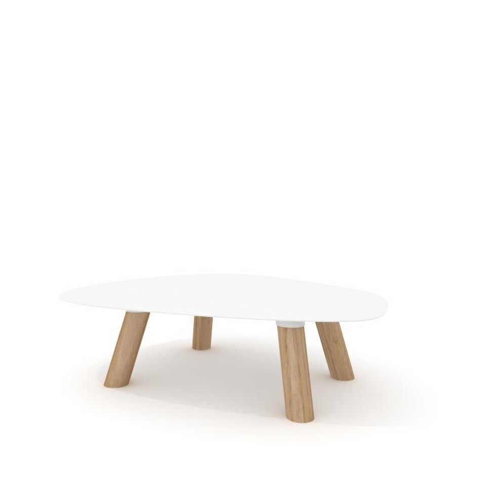 Turtle Table Medium White