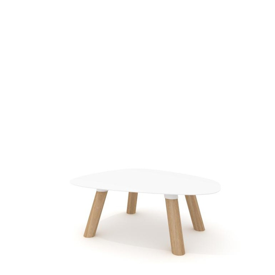 Turtle Table Small White
