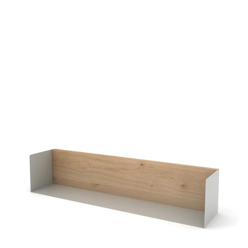 U Shelf Large Agate Gray