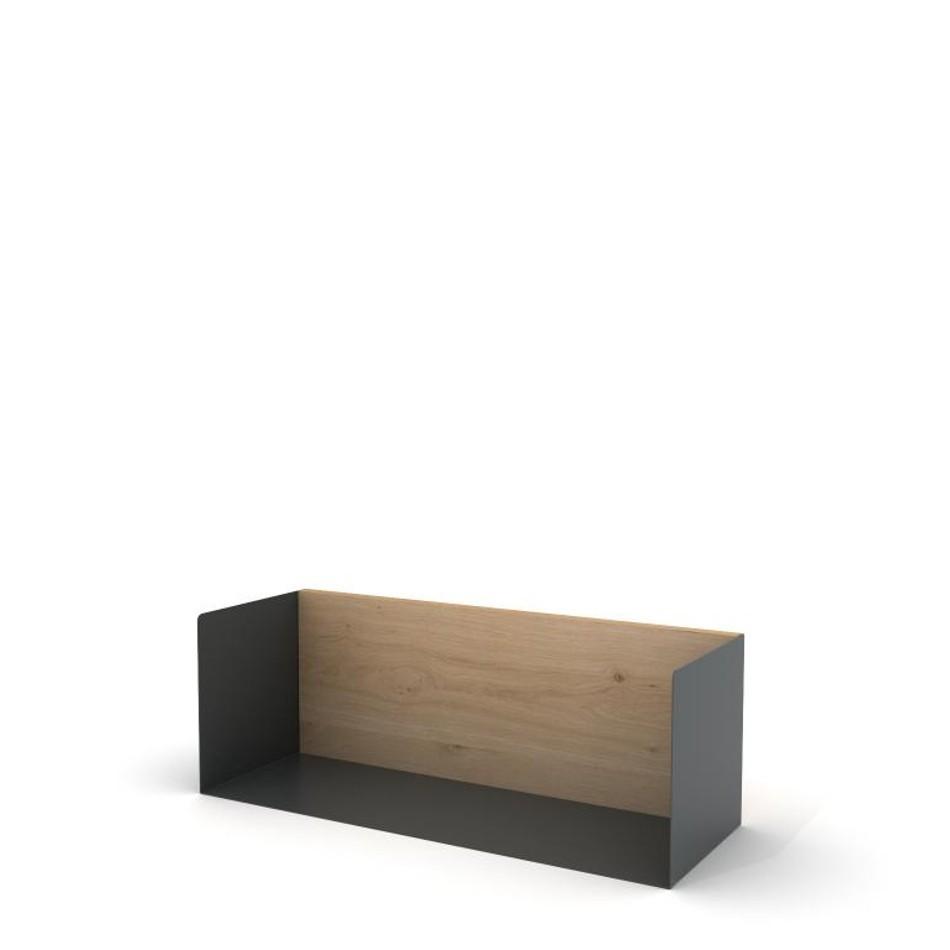 U Shelf Medium Traffic Gray