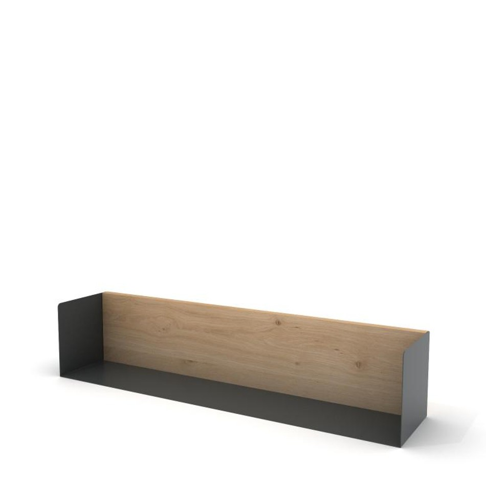 U Shelf Large Traffic Gray