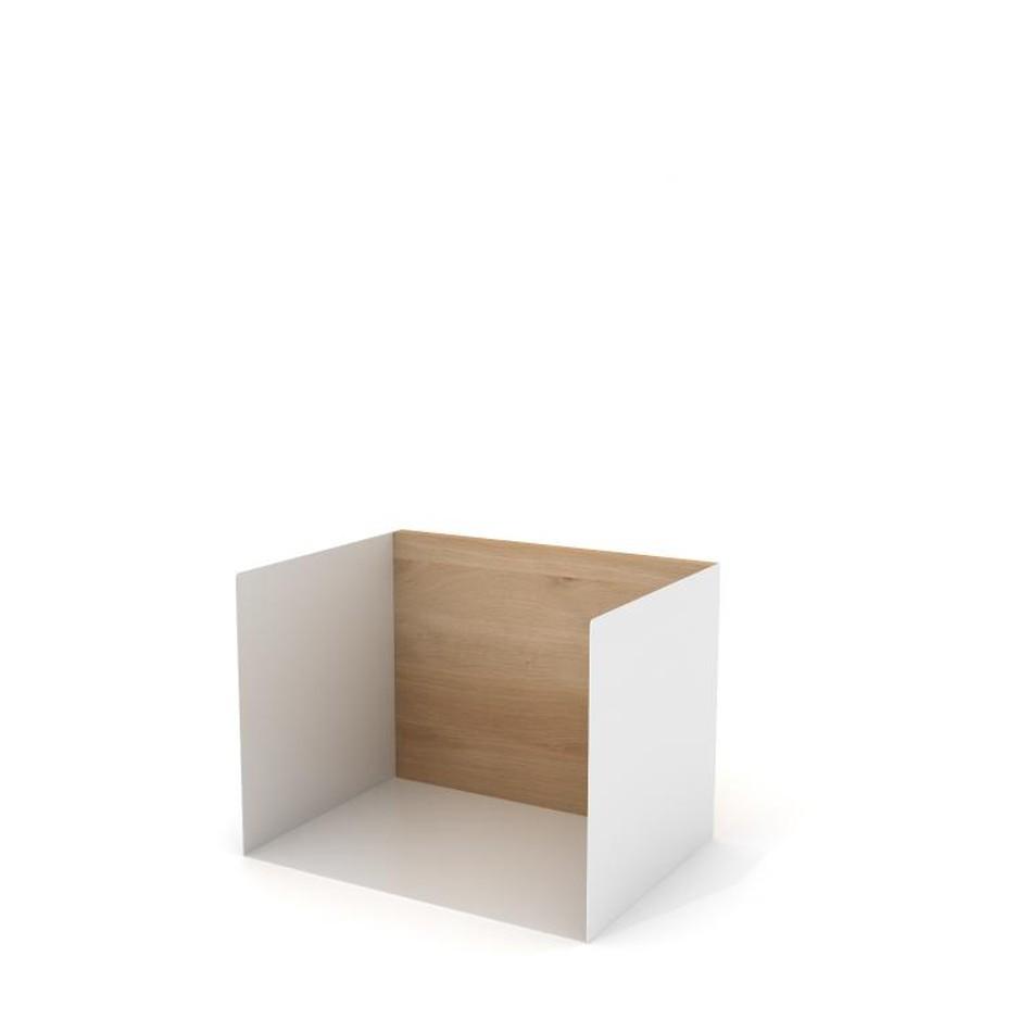U Shelf Small White