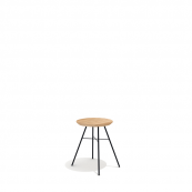 Disc Stool Black