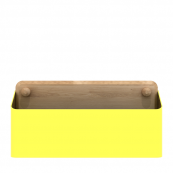 Pin Box Large Yellow