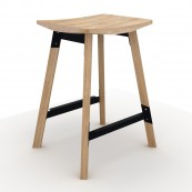 Gud Breakfast Stool Black