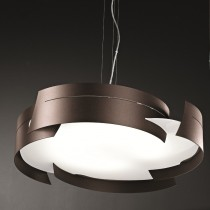 Vulture Suspension Lamp - Bronze 47cm