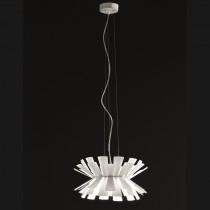 Elettra Suspension Lamp - White 40cm
