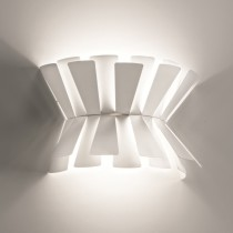 Elettra Wall Lamp - White 53cm