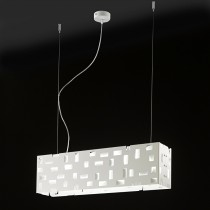 Berlino Est Suspension Lamp - White