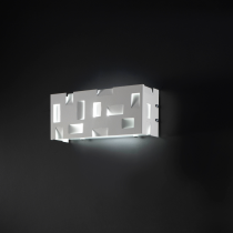 Berlino Est Wall Lamp - White