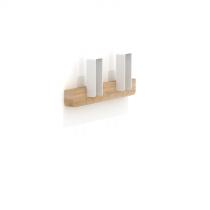 Merlin Small Coat Hanger White