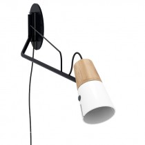 Cone Wall Lamp - White