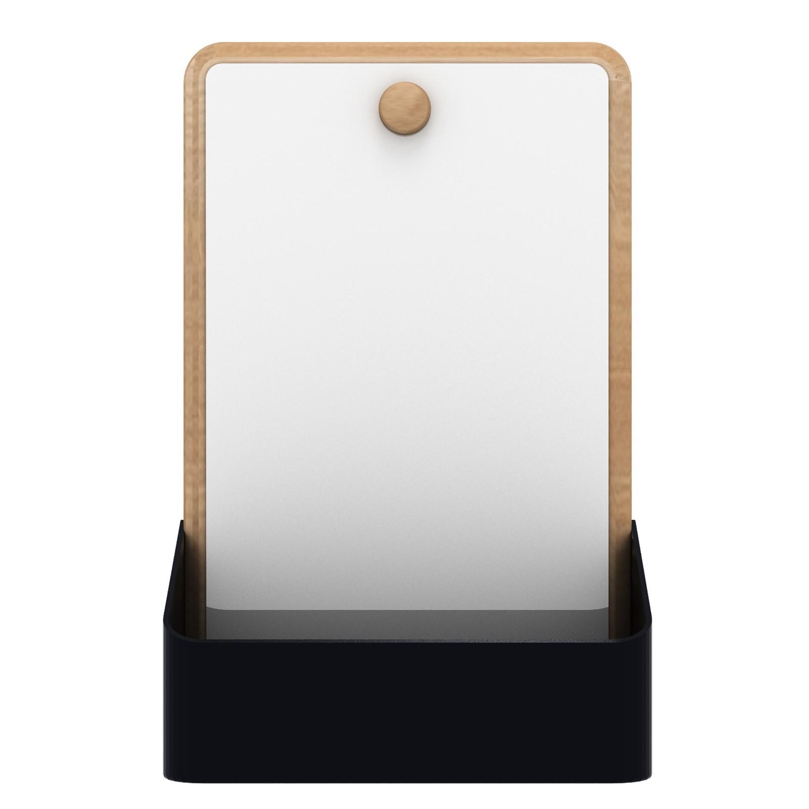 Pin Box Mirror Black