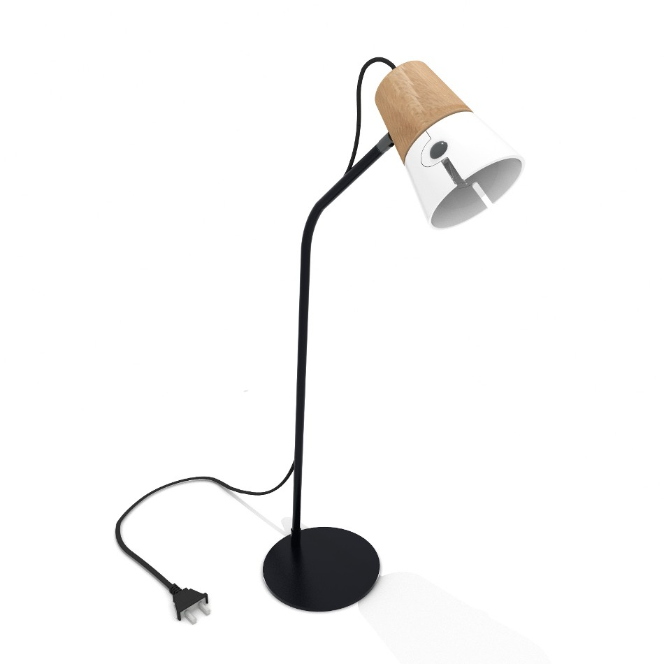 Cone Desk Lamp - White