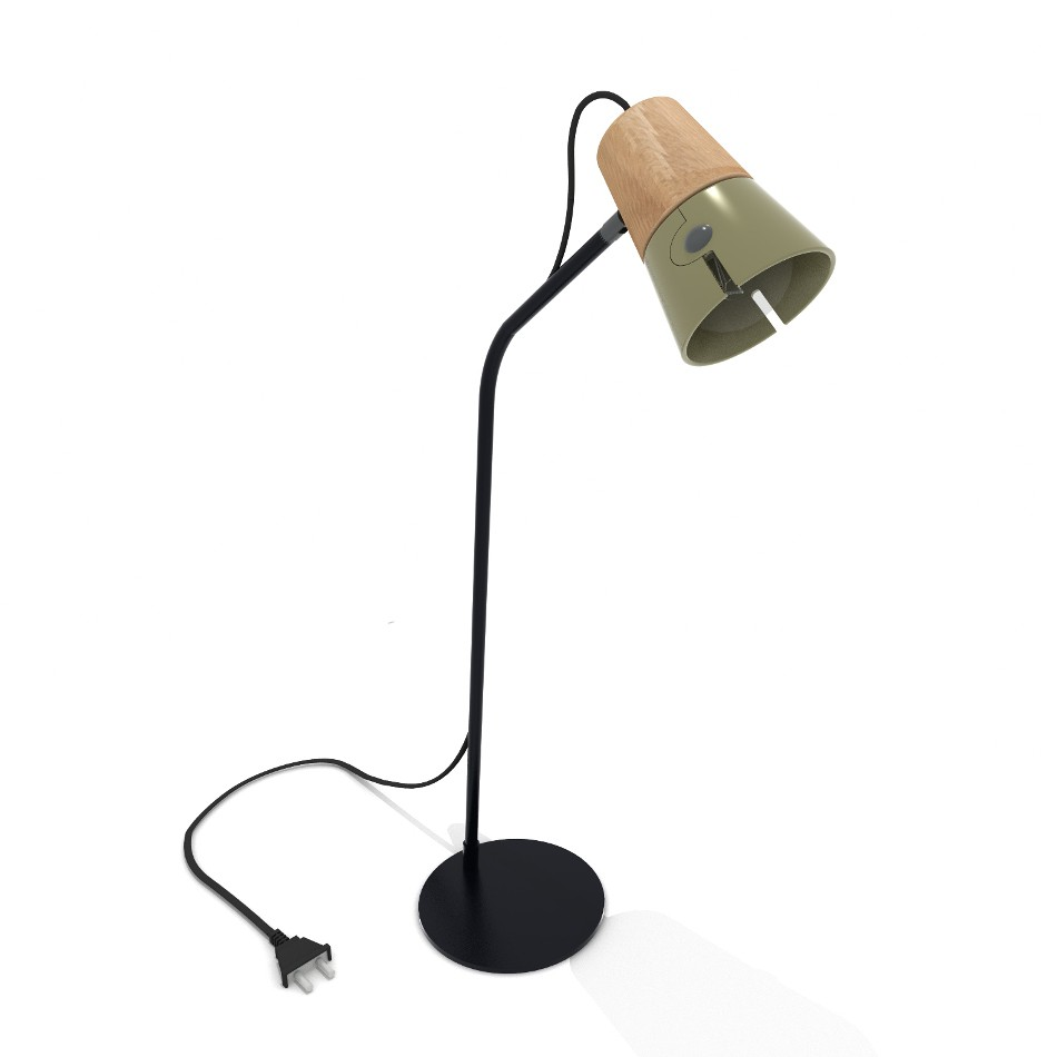 Cone Desk Lamp - Khaki