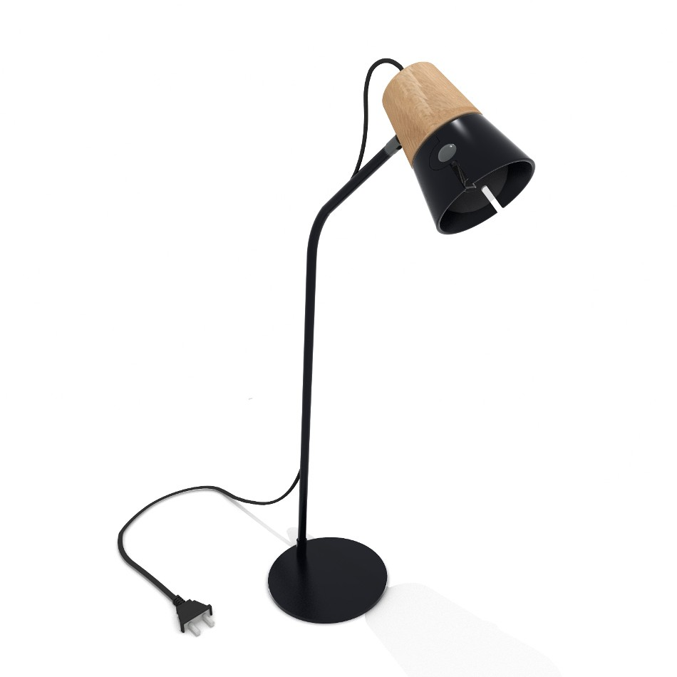 Cone Desk Lamp - Black