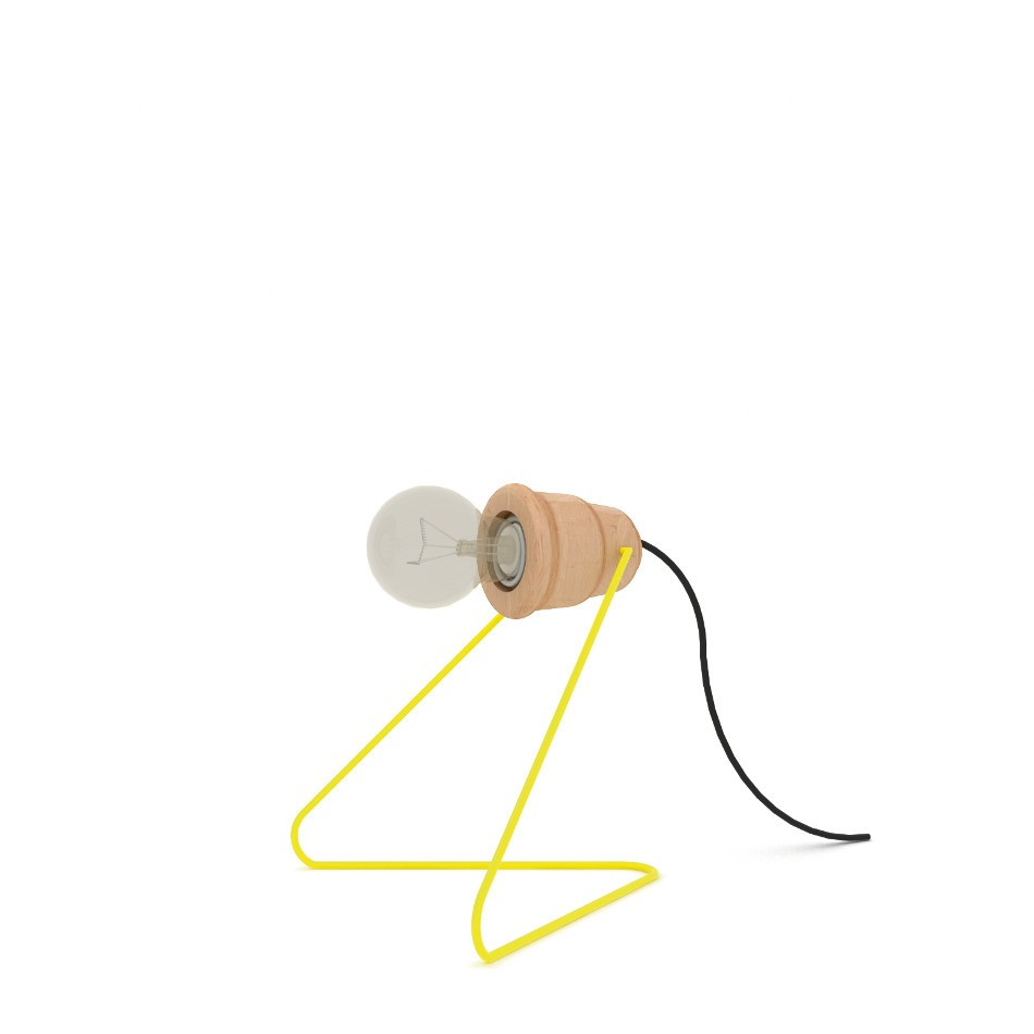 Wattman Lamp Yellow
