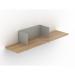 Clip Shelf Medium Agate Gray