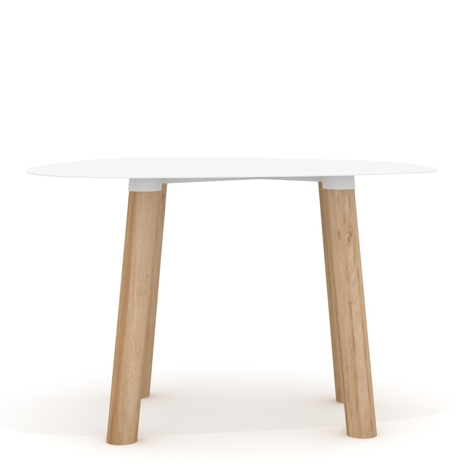 Tavolino Turtle 45 Bianco
