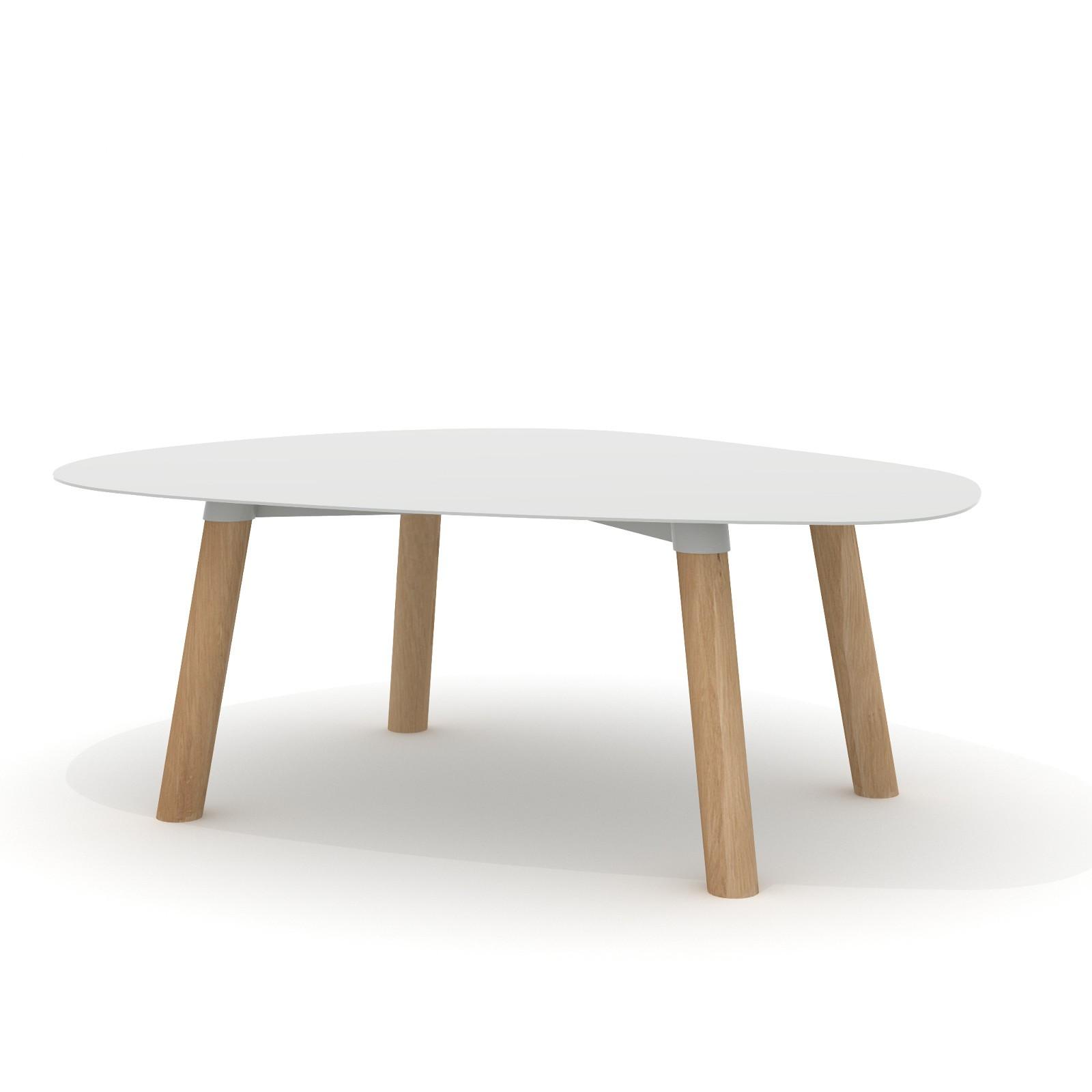 Tavolino Turtle 37 Grigio Chiaro