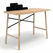 Scrivania Cloud Desk Nera