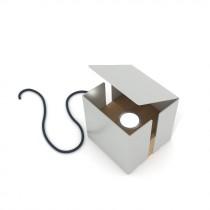 Lampada Box - Grigio Agata